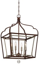 Minka-Lavery 4344-593 - 4 Light Foyer Pendant