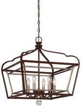 Minka-Lavery 4348-593 - 6 Light Pendant
