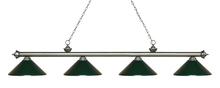 Z-Lite 200-4AS-MDG - 4 Light Island/Billiard Light