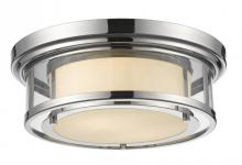 Z-Lite 2005F16-CH - 2 Light Flush Mount