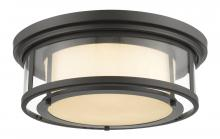 Z-Lite 2005F18-BRZ - 3 Light Flush Mount