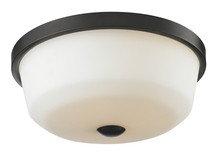 Z-Lite 411F3 - 3 Light Flush Mount