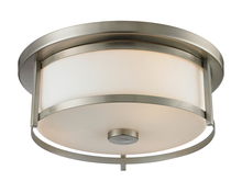 Z-Lite 412F14 - 2 Light Flush Mount