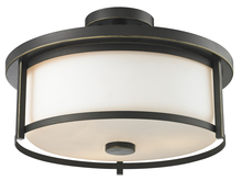 Z-Lite 413SF16 - 3 Light Semi Flush Mount