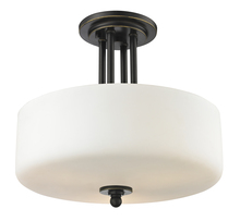 Z-Lite 414SF - 3 Light Semi Flush Mount