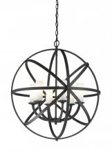Z-Lite 6017-6L-BRZ - 6 Light Pendant