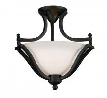 Z-Lite 703SF-MB - 2 Light Semi-Flush Mount