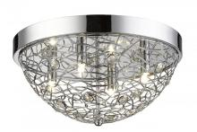 Z-Lite 889CHF16 - 4 Light Flush Mount Light