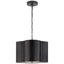 Visual Comfort AH 5216GM - Basil Small Hanging Shade in Gun Metal with Acry