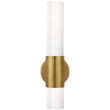 Visual Comfort ARN 2611HAB-WG - Penz Medium Cylindrical Sconce in Hand-Rubbed An