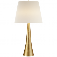 Visual Comfort ARN 3002G-L - Dover Table Lamp in Gild with Linen Shade