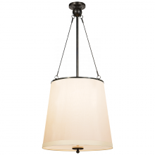 Visual Comfort BBL 5023BZ-S - Westport Hanging Shade in Bronze with Silk Shade