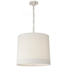 Visual Comfort BBL 5110SS-S - Simple Banded Hanging Shade in Soft Silver with