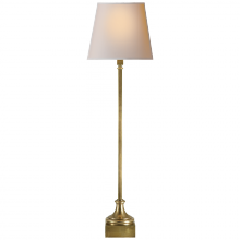 Visual Comfort CHA 8315AB-NP - Cawdor Buffet Lamp in Antique-Burnished Brass wi