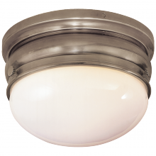 Visual Comfort CHC 4201AN - Crown Small Flush Mount in Antique Nickel