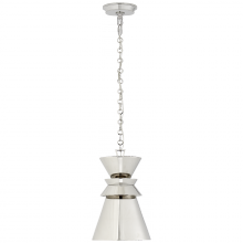 Visual Comfort CHC 5240PN-PN - Alborg Small Stacked Pendant in Polished Nickel