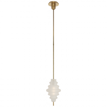 Visual Comfort KW 5270AB-VG - Tableau Small Pendant in Antique-Burnished Brass