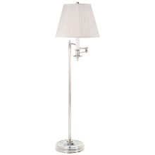 Visual Comfort RL11092PS-S - Stockton Swing Arm Floor Lamp in Polished Silver