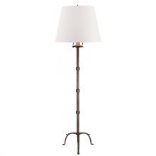 Visual Comfort RL 1540NR-WP - Robertson Floor Lamp in Natural Rust with White