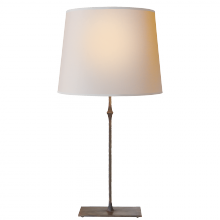 Visual Comfort S 3401AI-NP - Dauphine Table Lamp in Aged Iron with Natural Pa