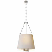 Visual Comfort SP 5020PN-NP - Dalston Hanging Shade in Polished Nickel with Na