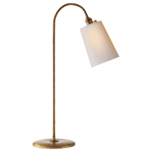 Visual Comfort TOB 3222GI-NP - Mia Table Lamp in Gilded Iron with Natural Paper