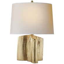 Visual Comfort TOB 3734G-NP - Carmel Table Lamp in Gilded with Natural Paper S