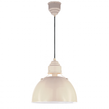 Visual Comfort TOB 5012AW - Eugene Small Pendant in Antique White