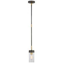 Visual Comfort TOB 5305BZ/HAB-CG - Marais Petite Pendant in Bronze and Hand-Rubbed